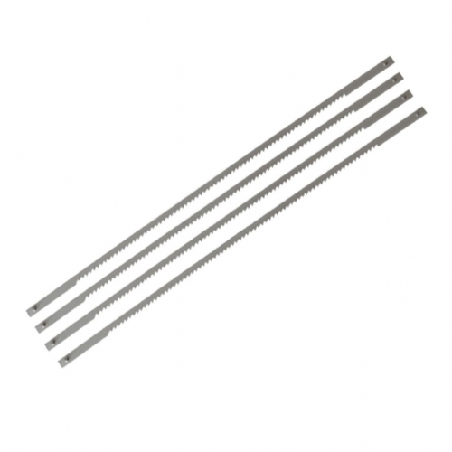 "Stanley 0-15-061 Coping Saw Blades 165mm (6½"") 14tpi Pack of 4"